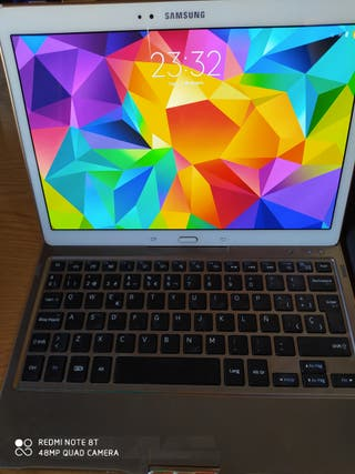 Tablet Samsung Galaxy tab S + teclado orginal