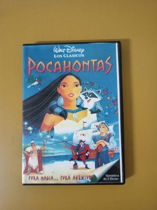 PELÍCULA POCAHONTAS DVD