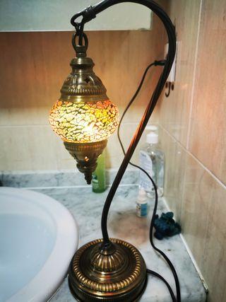 lámpara Turquía cristales