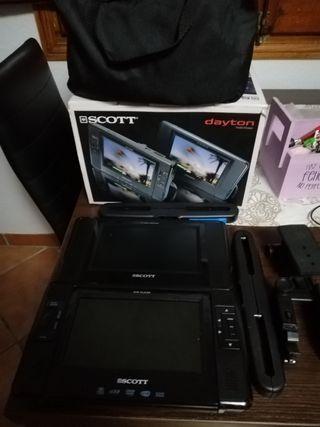 dvd portatiles para coche O CAMBIO POR RADIO