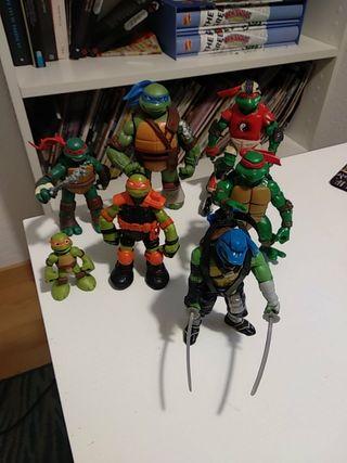 lote de figuras tortugas ninja