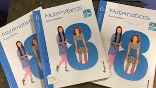 LIBRO DE TEXTO DE MATEMÁTICAS 6 DE PRIMARIA