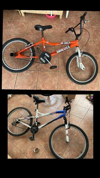 Bicicleta de montaña y BMX