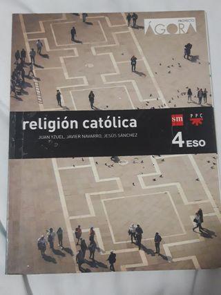 Libro religión católica 4 eso