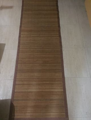 Dos alfombras de bambú sin estrenar por 20€