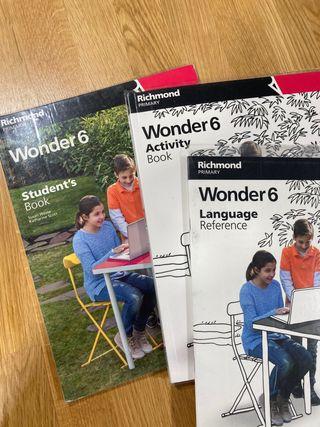 Inglés Wonder 6 primaria