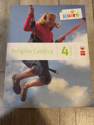 Libro Religión , 4 primaria