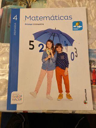 matemáticas 4 primaria