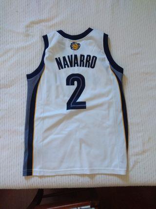 Camiseta baloncesto Navarro Grizzlies