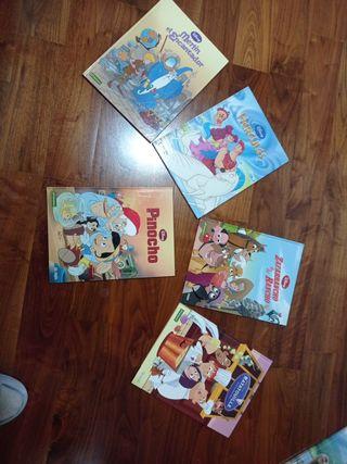 Comics Disney 5 unidades