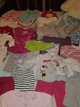 Lote ropa bebe niña. 12-24 meses
