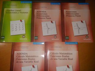 Matemáticas Todos Libros Primero CCAA Uned