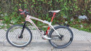 "bicicleta Specialized Stumjumper HT carbón 26"""