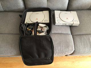 Playstation 1 con mando (2 consolas)