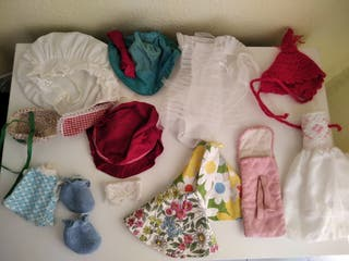 Lote ropa muñeca