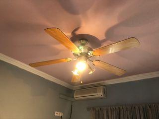 Lámpara/Ventilador techo