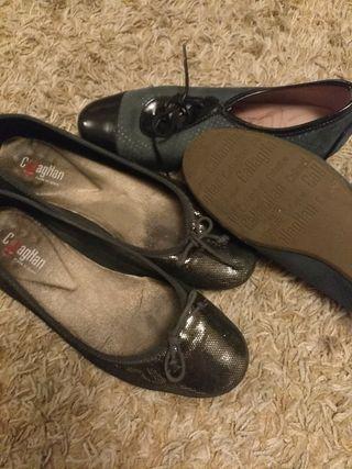 lote zapatos N 37 marca callagttan