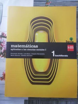 Matemáticas aplicadas 1ero bachillerato