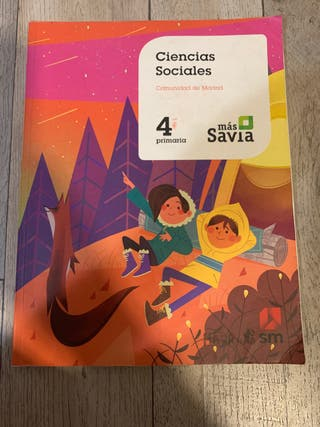 Ciencias Sociales , 4 primaria más Sabia , SM