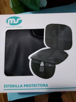 protector silla coche bebe