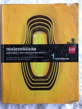 Libro de matematicas aplicadas 1 bachillerato