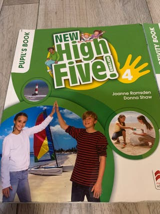 New High Five, english; 4 primaria