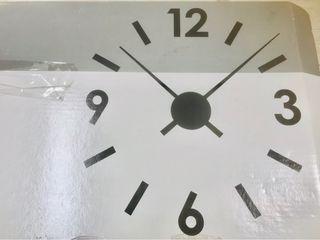 Reloj de pegatina (Sticker clickear)