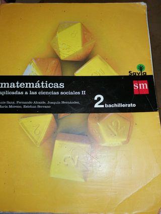 Libro matemáticas aplicadas a ciencias sociales