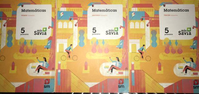 Matemáticas 5 primaria más Savia
