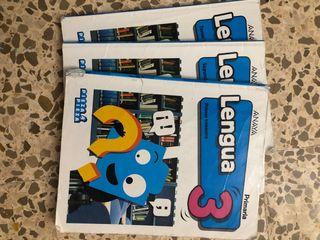 Libros lengua 3 primaria