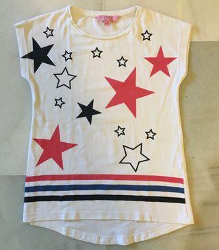 Camiseta niña talla 7-8