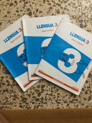 Libros llengua 3 primaria