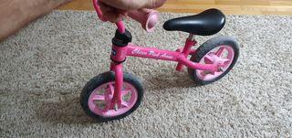 bicicleta sin pedales con sillin chicco