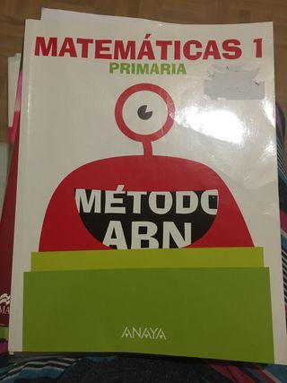 Libro matemáticas 1 primaria