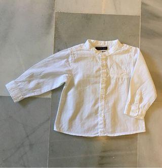 Camisa bebé de Zara talla 6-9 meses
