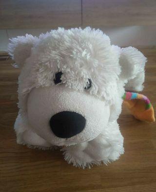 peluche oso polar de 40cm
