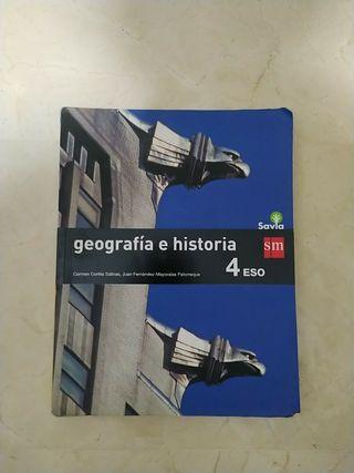LIBRO GEOGRAFÍA E HISTORIA 4°ESO