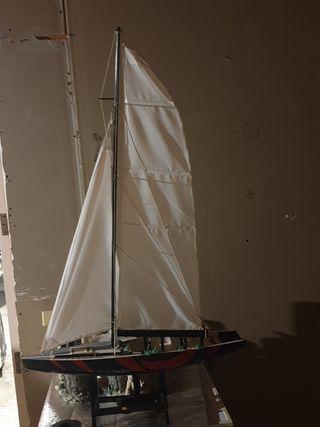 Maqueta barco velero
