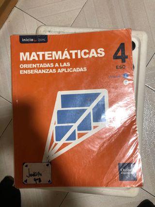 Libro de matemáticas aplicadas 4º ESO
