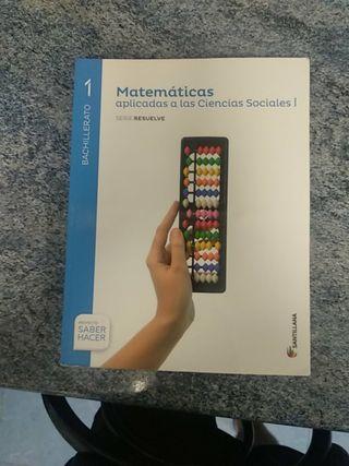 Matematicas aplicadas ciencias sociales