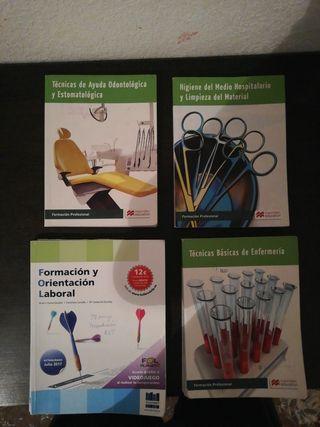 libros grado medio auxiliar de enfermeria