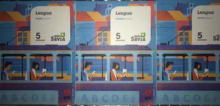 Lengua Aragón 5º primaria SM más Savia