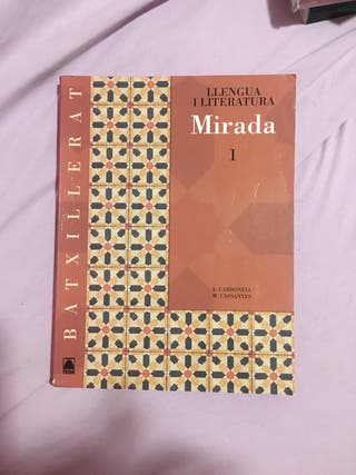Llibre de català primer de batxillerat TEIDE