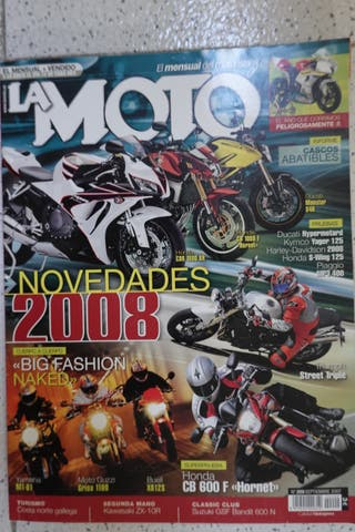 YAMAHA MT01-CB600F La Moto 2007