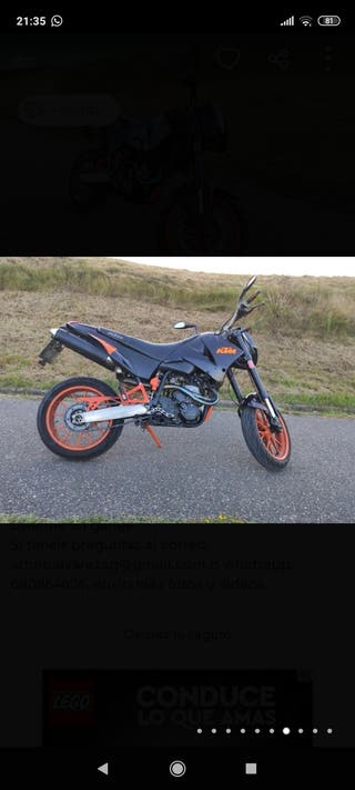 Despiece KTM Duke II 640