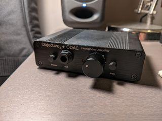 DAC amplificador de auriculares O2+ODAC Digital
