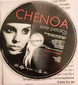 CD Single Chenoa. Siete Pétalos