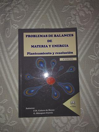 Libro Problemas de balances materia y energía