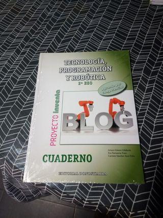 Cuaderno Tecnología 2 ESO Ed. Donostiarra
