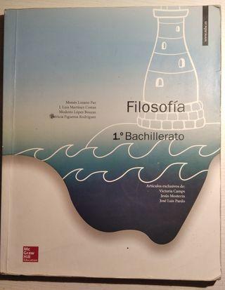 Libro filosofía en 1°BACH
